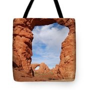 Windows And Turret Arches Tote Bag