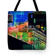 Windows And Watertower Tote Bag