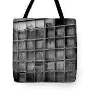 Windows Black And White Tote Bag