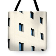 Windows In An Office Building Tote Bag