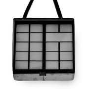 Windows Of Brooklyn In Black And White Tote Bag
