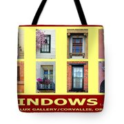 Windows Of Opportunity Tote Bag