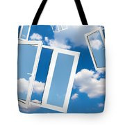 Windows To New World Tote Bag
