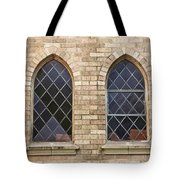 Windows Within The Catholic Walls Tote Bag