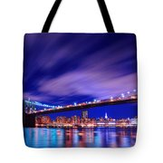 Winds And Lights Tote Bag