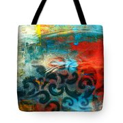 Winds Of Change - Abstract Art Tote Bag