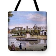 Windsor Castle From Across The Thames Tote Bag