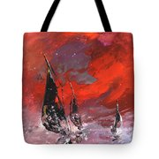 Windsurf Impression 02 Tote Bag