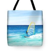 Windsurf Tote Bag