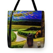 Windy Autumn With Still Life 05 Tote Bag