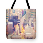 Windy City Lights - Chicago Tote Bag