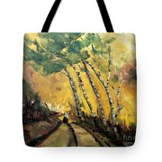 Windy Countryside Day Tote Bag