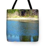 Windy Grace Lake Tote Bag
