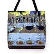 Wine And Cheese Tasting Tote Bag by Kurt Van Wagner