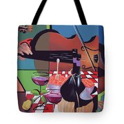 Wine And Roses Tote Bag