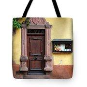 Wine Bar Door Tote Bag