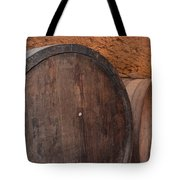 Wine Barrel Tote Bag
