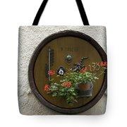 Wine Barrel Decoration Tote Bag