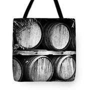 Wine Barrels Tote Bag by Scott Pellegrin