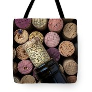 Wine Bottle With Corks Tote Bag