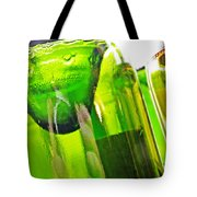 Wine Bottles 5 Tote Bag by Sarah Loft