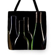 Wine Bottles Tote Bag by Tom Mc Nemar