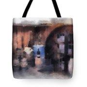 Wine Cellar Photo Art Tote Bag