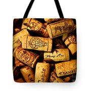 Wine Corks - Art Version Tote Bag