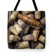 Wine Corks Celebration Tote Bag