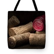 Wine Corks Still Life Iv Tote Bag by Tom Mc Nemar