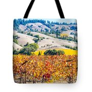 Wine Country Napa C.a. Tote Bag