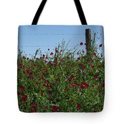 Wine Cups And Barbed Wire Tote Bag