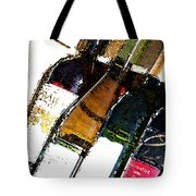 Wine In A Row Tote Bag
