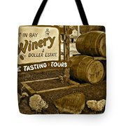 Wine Is Fine Tote Bag