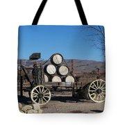 Wine Wagon Tote Bag