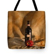 Wine With An Apple And Cheese Tote Bag