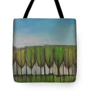 Wineglass Treeline Tote Bag