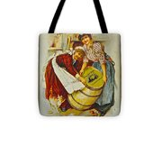 Winery Art Tote Bag