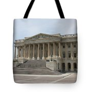 Wing Of The Capitol - Washington Dc  Tote Bag