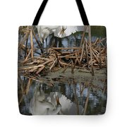 Wing Up Reflection Tote Bag