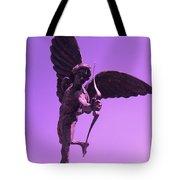 Winged Archer Eros Tote Bag