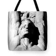 Winged Face Tote Bag