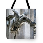 Winged Gargoyle Duomo Di Milano Italia Tote Bag