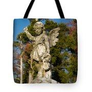 Winged Girl 8 Tote Bag