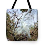 Winged Grace 2 Tote Bag