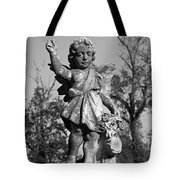 Winged Gril 7 Tote Bag