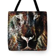 Winged Lion Tote Bag