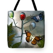 Winged Metamorphose Tote Bag by Billie Jo Ellis