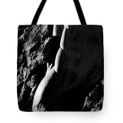Winged Profile Tote Bag