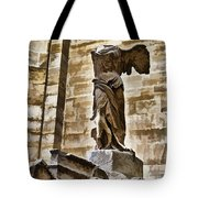 Winged Victory - Louvre Tote Bag